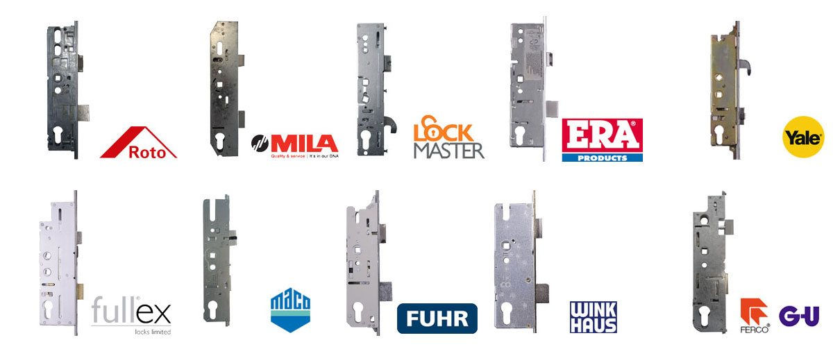Upvc door lock cases